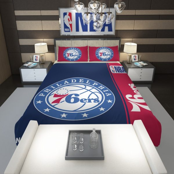 Philadelphia 76ers NBA Basketball Comforter 1