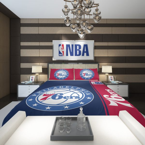 Philadelphia 76ers NBA Basketball Comforter 2