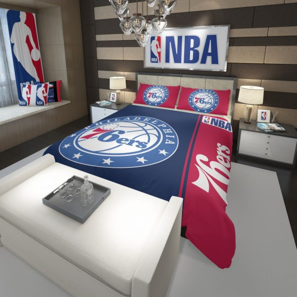 Philadelphia 76ers NBA Basketball Comforter 3