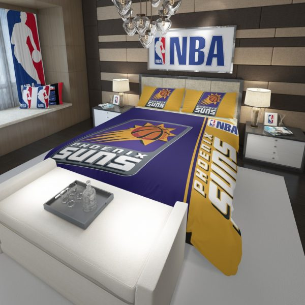 Phoenix Suns NBA Basketball Comforter 3