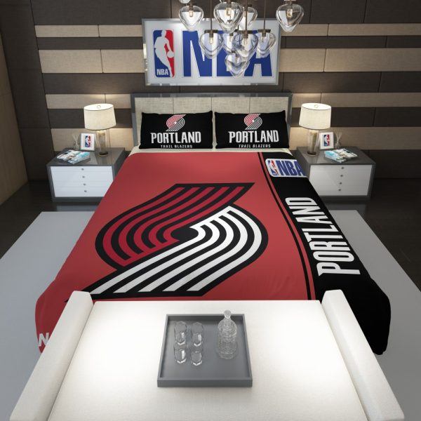 Portland Trail Blazers NBA Basketball Comforter 1