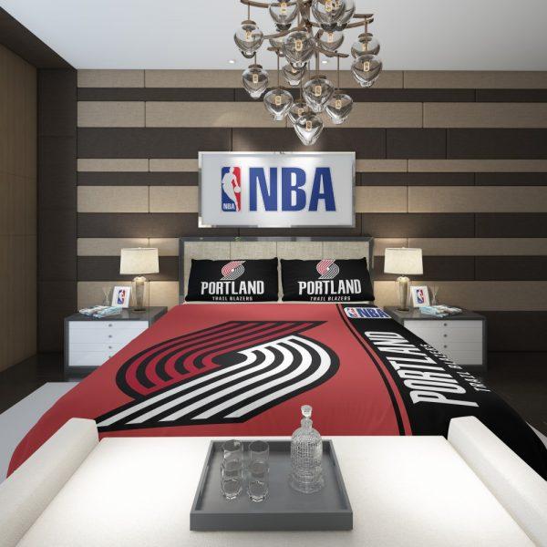 Portland Trail Blazers NBA Basketball Comforter 2