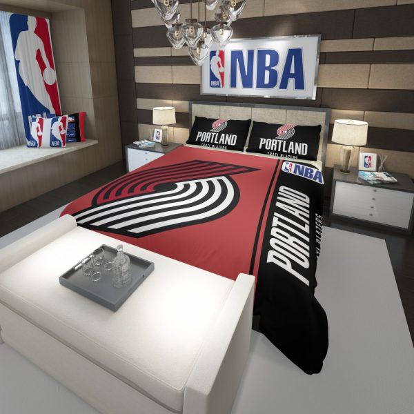 Portland Trail Blazers NBA Basketball Comforter 3