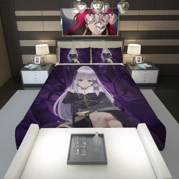 Re Zero Emilia Anime Comforter 1