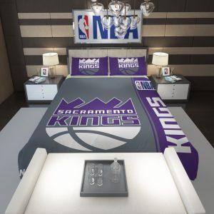 Sacramento Kings NBA Basketball Comforter 1
