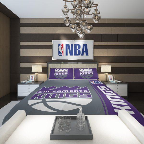 Sacramento Kings NBA Basketball Comforter 2