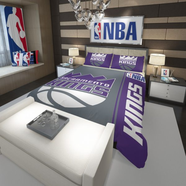 Sacramento Kings NBA Basketball Comforter 3