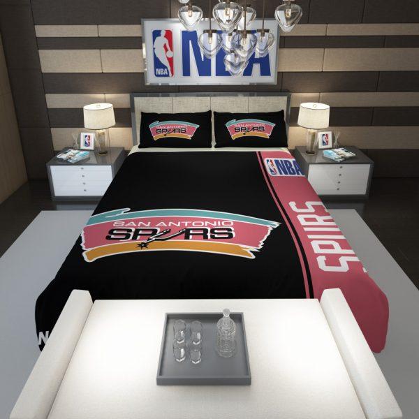 San Antonio Spurs NBA Basketball Comforter 1