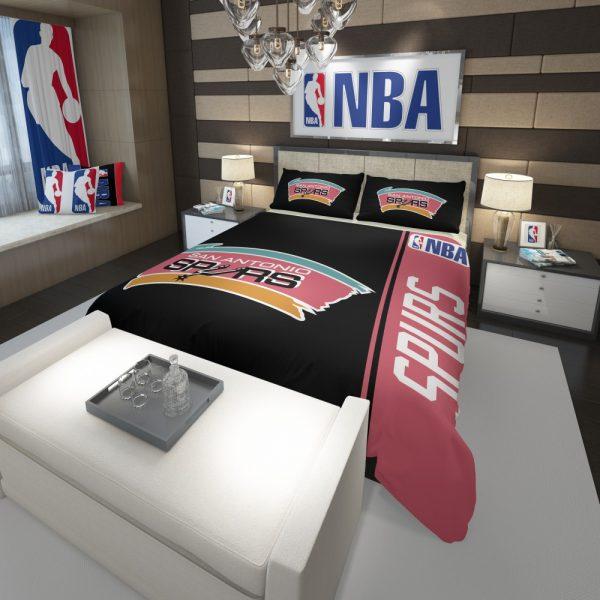 San Antonio Spurs NBA Basketball Comforter 3