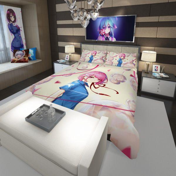 Teen Japanese Anime Girl Comforter 3