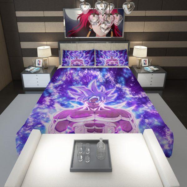 Ultra Instinct Goku Dragon Ball Super Anime Comforter 1