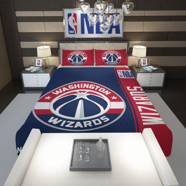Washington Wizards NBA Basketball Comforter 1
