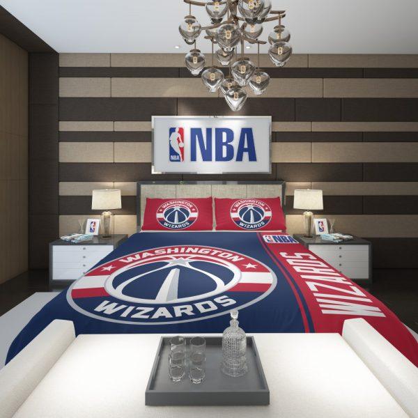 Washington Wizards NBA Basketball Comforter 2