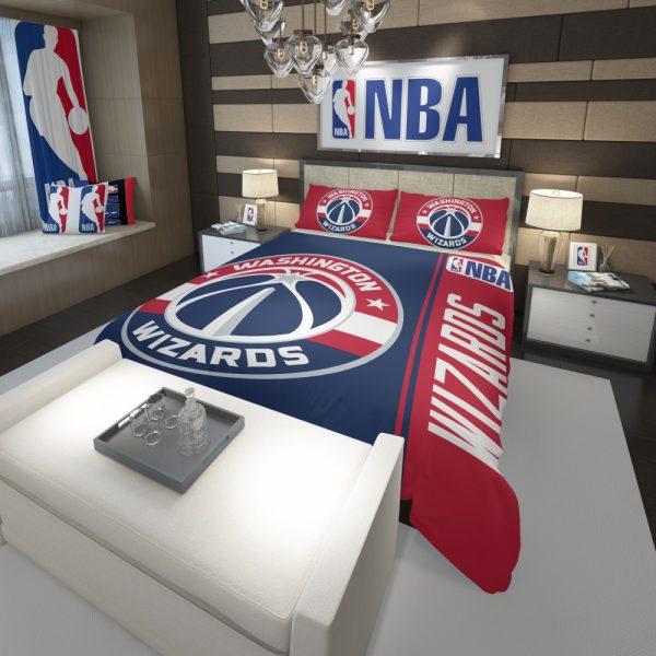 Washington Wizards NBA Basketball Comforter 3
