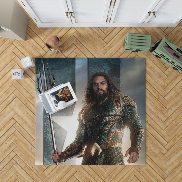 Aquaman Justice League Super Hero Bedroom Living Room Floor Carpet Rug 1