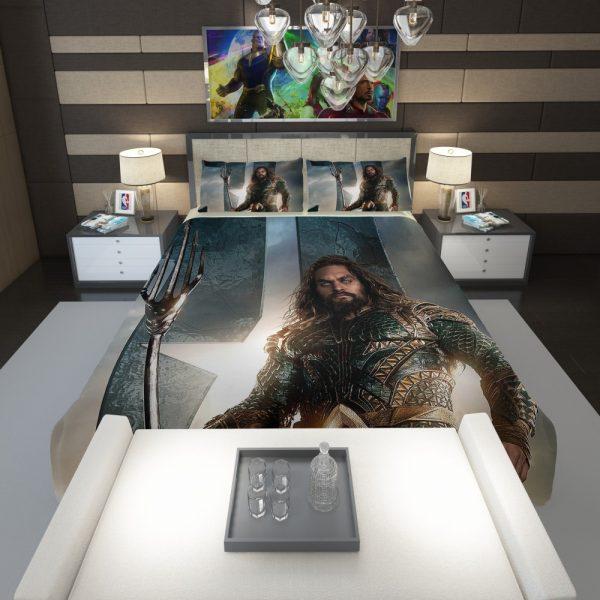 Aquaman Justice League Super Hero Comforter 1