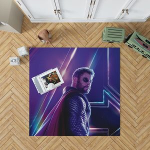 Avengers Infinity War Chris Hemsworth Thor Bedroom Living Room Floor Carpet Rug 1
