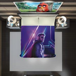 Avengers Infinity War Chris Hemsworth Thor Duvet Cover 2