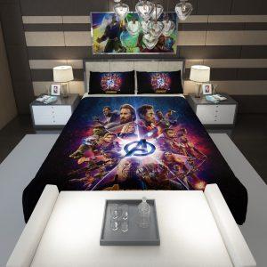 Avengers Infinity War Marvel Comic Movie Comforter 1