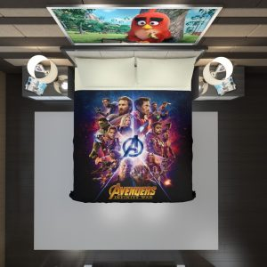 Avengers Infinity War Marvel Comic Movie Duvet Cover 2
