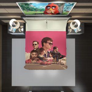 Baby Driver Movie Kids Duvet Cover 2