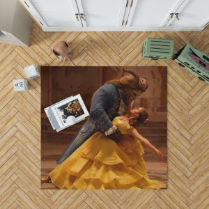 Beauty And The Beast Movie Emma Watson Bedroom Living Room Floor Carpet Rug 1