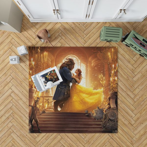 Beauty and the Beast Movie Bedroom Living Room Floor Carpet Rug 1