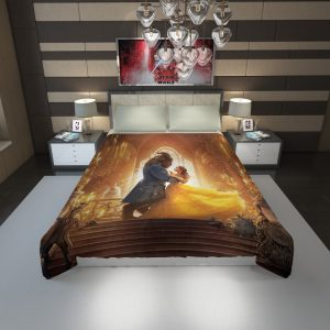 Beauty and the Beast Movie Duvet Cover 1