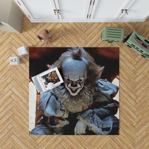 Bill Skarsgard Pennywise Clown It Bedroom Living Room Floor Carpet Rug 1