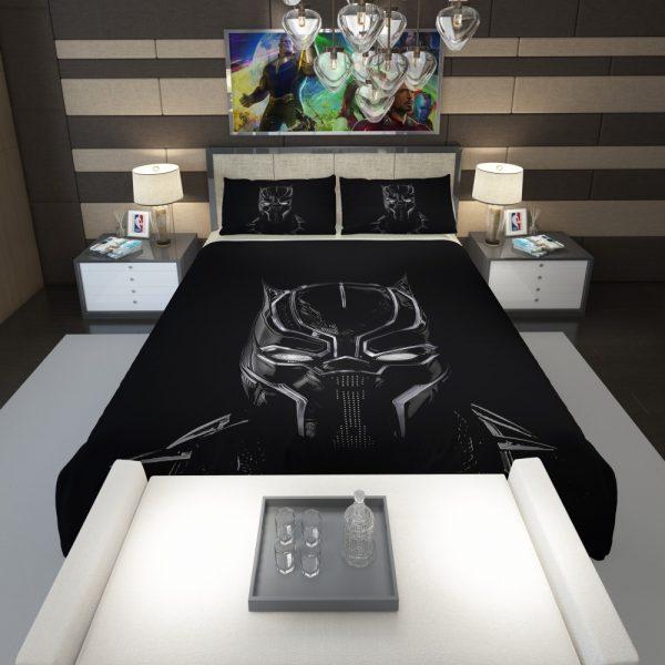 Black Panther Artwork Movie Comforter 1