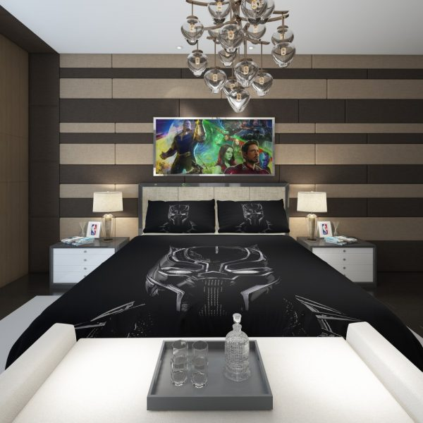 Black Panther Artwork Movie Comforter 2