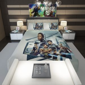 Black Panther Bedroom Comforter 1