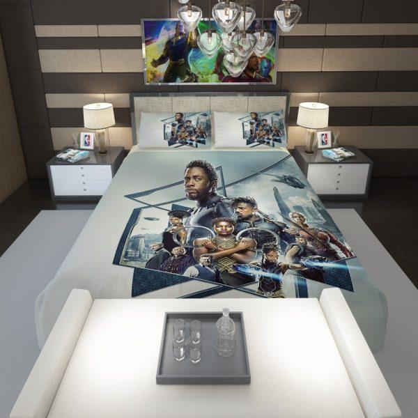 Black Panther Bedroom Comforter 1
