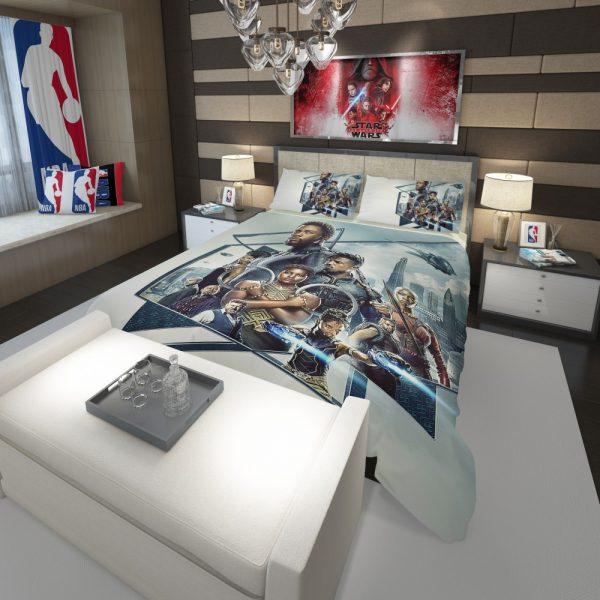 Black Panther Bedroom Comforter 3