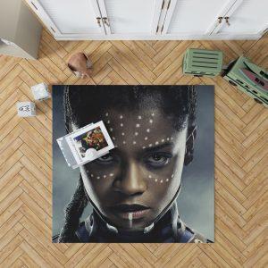 Black Panther Letitia Wright Shuri Bedroom Living Room Floor Carpet Rug 1
