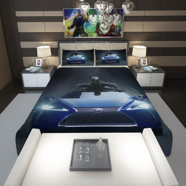Black Panther Lexus LC Comforter 1