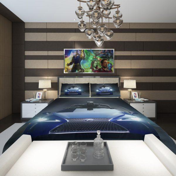 Black Panther Lexus LC Comforter 2