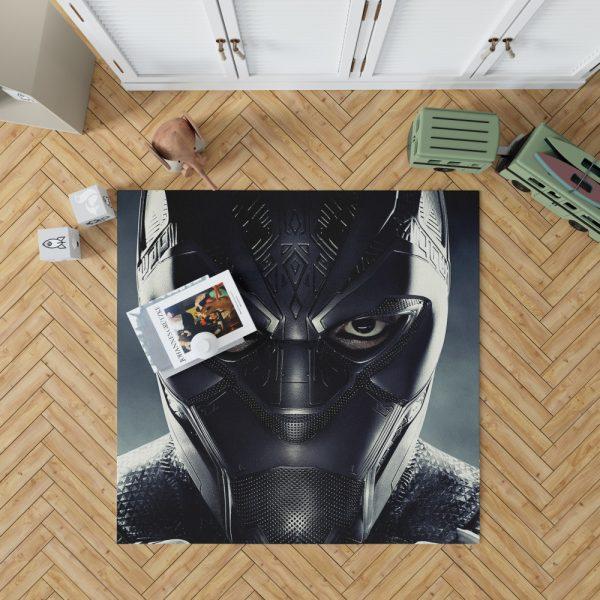 Black Panther Marvel Comics Bedroom Living Room Floor Carpet Rug 1