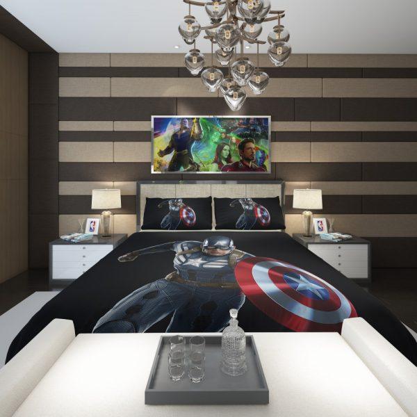 Captain America Superheroes Marvel Comics Comforter 2