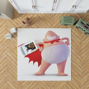 Captain Underpants Dream works Movie Bedroom Living Room Floor Carpet Rug 1