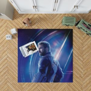 Chris Evans Steve Rogers Captain America Bedroom Living Room Floor Carpet Rug 1