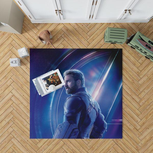 Chris Evans Steve Rogers Captain America Bedroom Living Room Floor Carpet Rug 1