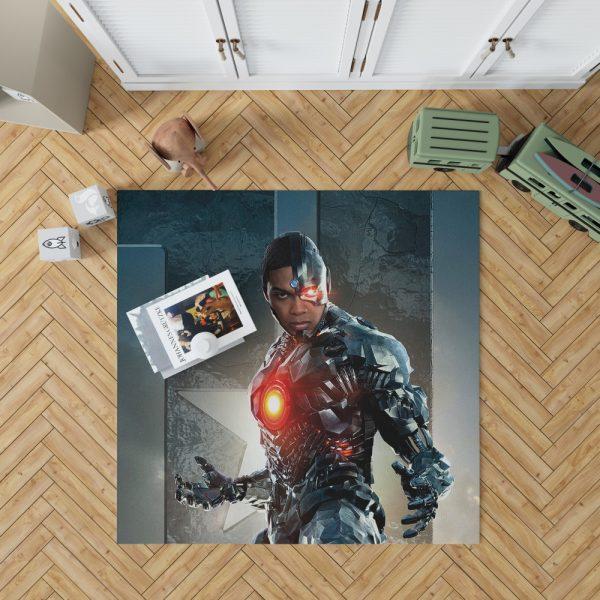 Cyborg Justice League Bedroom Living Room Floor Carpet Rug 1