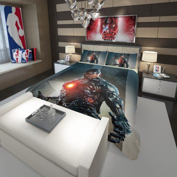 Cyborg Justice League Comforter 3
