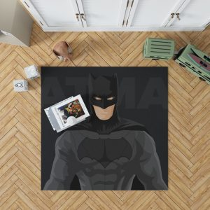 DC Comics Justice League Batman Movie Bedroom Living Room Floor Carpet Rug 1