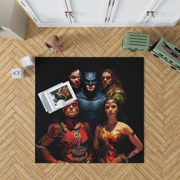 DC Comics Justice League Movie Bedroom Living Room Floor Carpet Rug 1