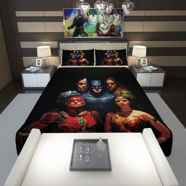 DC Comics Justice League Movie Comforter 1