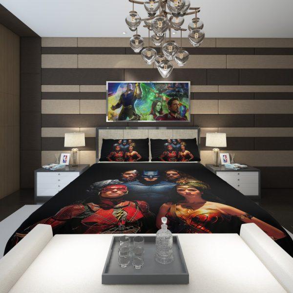 DC Comics Justice League Movie Comforter 2