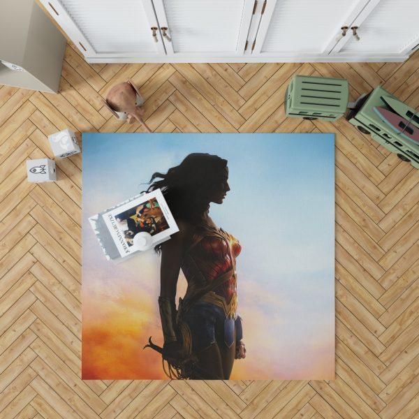 Dc Comics Wonder Woman Movie Bedroom Living Room Floor Carpet Rug 1