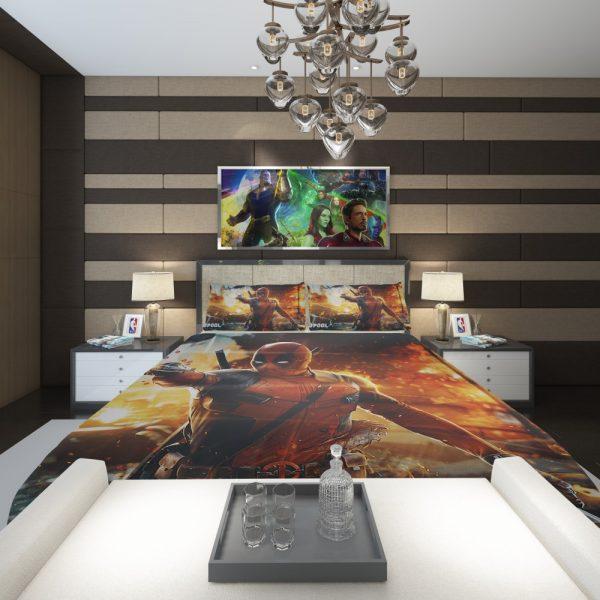 Deadpool Artwork Super Hero Comforter 2